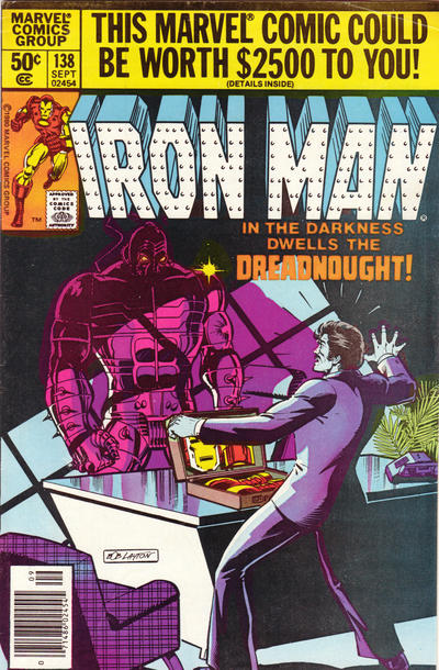 Cover for Iron Man (Marvel, 1968 series) #138 [Direct Edition]