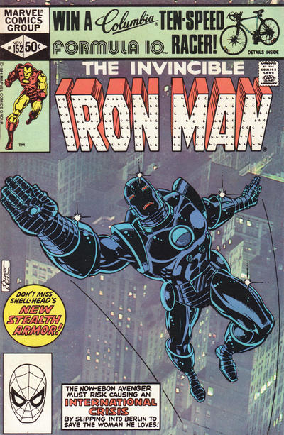 Cover for Iron Man (Marvel, 1968 series) #152