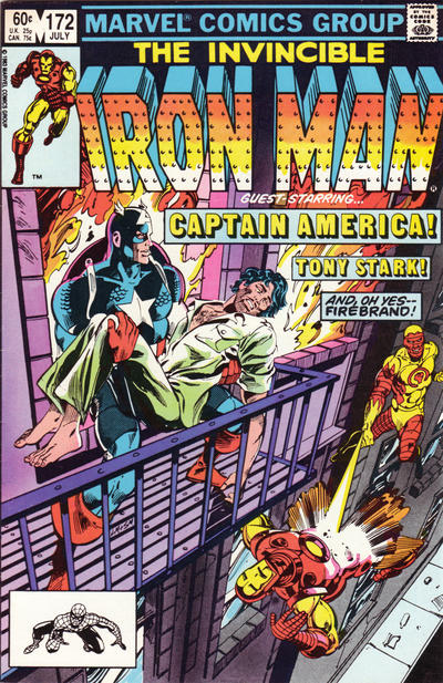 Cover for Iron Man (Marvel, 1968 series) #172 [Newsstand]