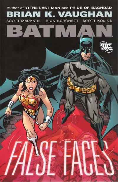 Cover for Batman: False Faces (DC, 2009 series)