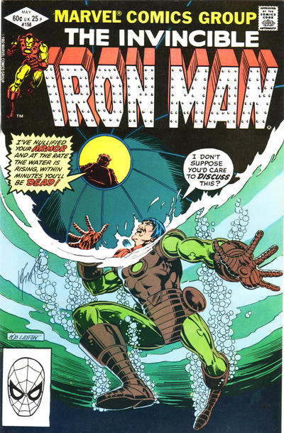 Cover for Iron Man (Marvel, 1968 series) #158