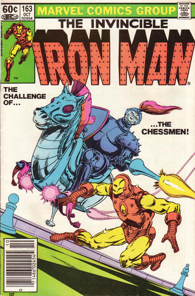 Cover for Iron Man (Marvel, 1968 series) #163 [Direct Edition]