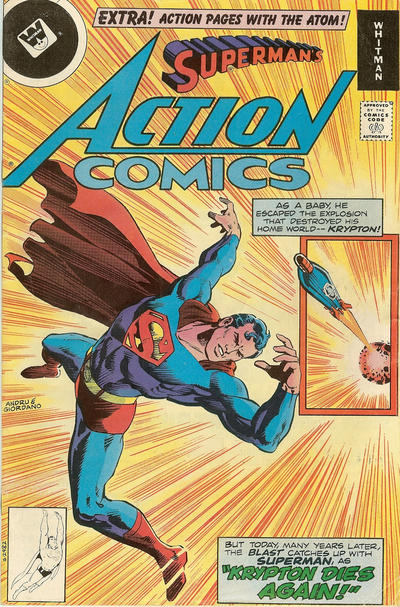 Cover for Action Comics (DC, 1938 series) #489 [Whitman]