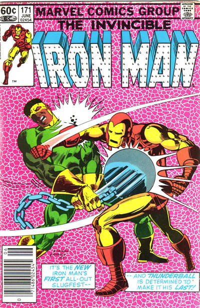 Cover for Iron Man (Marvel, 1968 series) #171 [Newsstand]