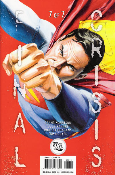 Cover for Final Crisis (DC, 2008 series) #7 [Sliver Cover]