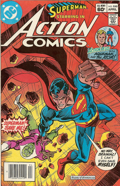 Cover for Action Comics (DC, 1938 series) #530 [Direct]