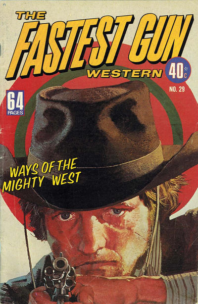 Cover for The Fastest Gun Western (K. G. Murray, 1972 series) #29