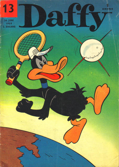 Cover for Daffy (Allers Forlag, 1959 series) #13/1959
