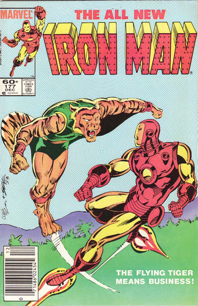 Cover for Iron Man (Marvel, 1968 series) #177 [Newsstand]
