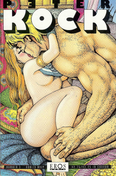 Cover for Peter Kock (Fantagraphics, 1994 series) #3