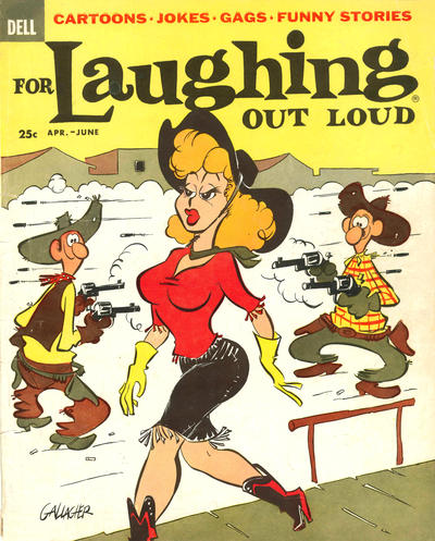 Cover for For Laughing Out Loud (Dell, 1956 series) #7