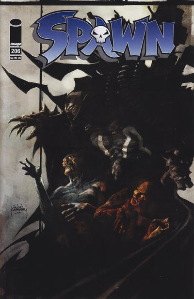 Cover for Spawn (Image, 1992 series) #206