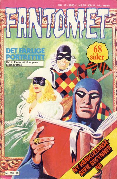 Cover for Fantomet (Semic, 1976 series) #18/1980