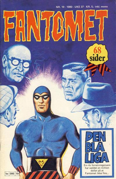 Cover for Fantomet (Semic, 1976 series) #19/1980