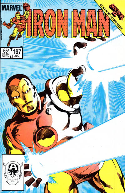 Cover for Iron Man (Marvel, 1968 series) #197 [Canadian price variant]