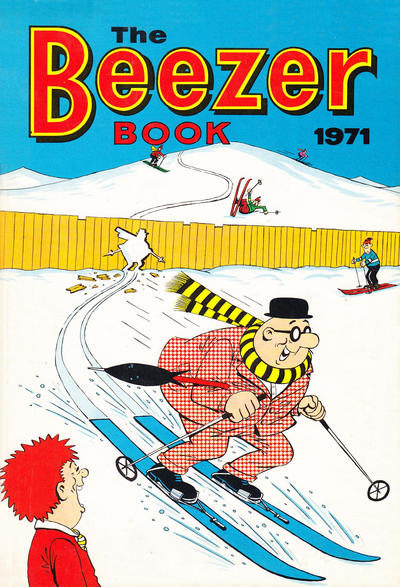 Cover for The Beezer Book (D.C. Thomson, 1958 series) #1971