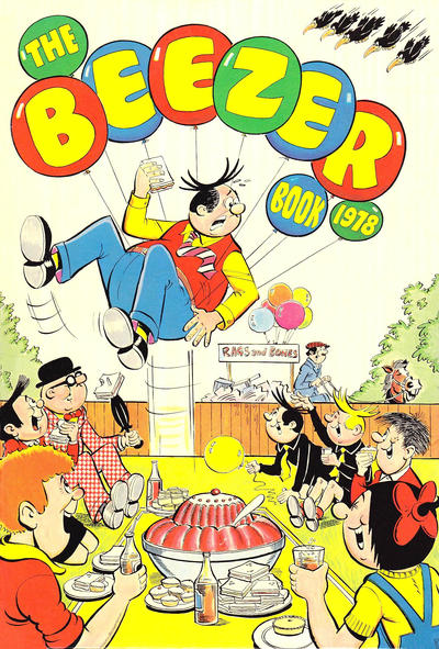 Cover for The Beezer Book (D.C. Thomson, 1958 series) #1978