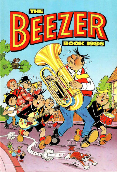 Cover for The Beezer Book (D.C. Thomson, 1958 series) #1986