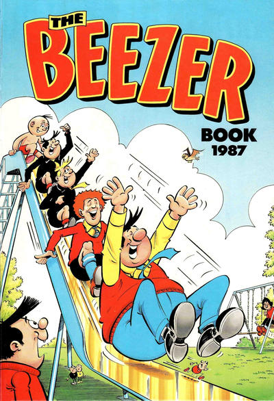 Cover for The Beezer Book (D.C. Thomson, 1958 series) #1987
