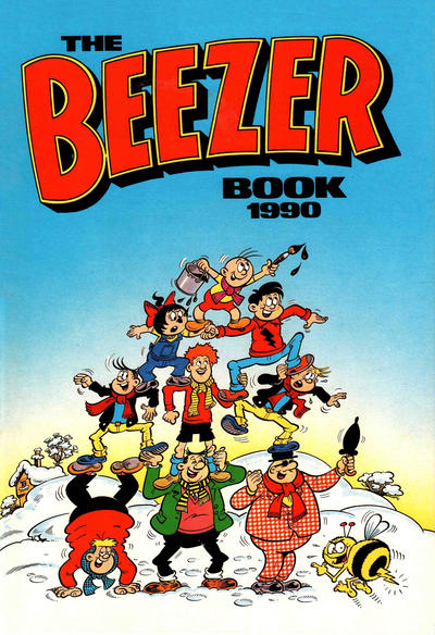 Cover for The Beezer Book (D.C. Thomson, 1958 series) #1990