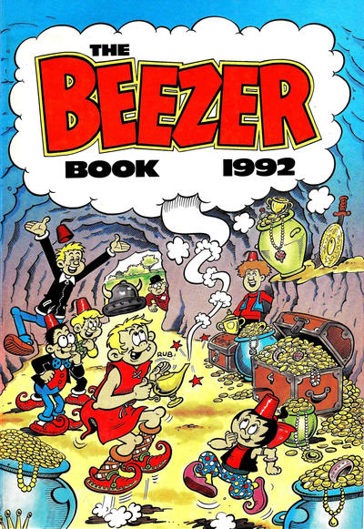 Cover for The Beezer Book (D.C. Thomson, 1958 series) #1992