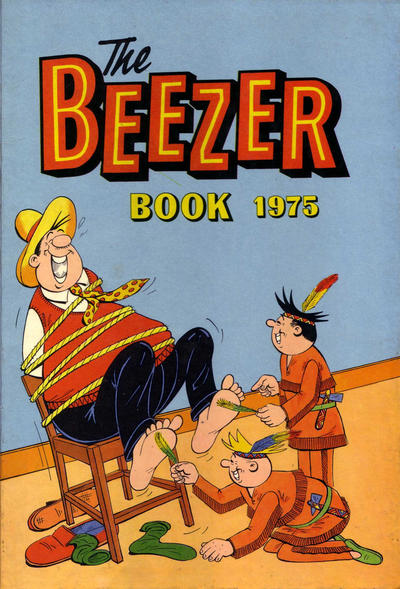Cover for The Beezer Book (D.C. Thomson, 1958 series) #1975