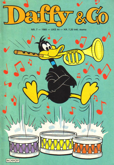 Cover for Daffy & Co (Semic, 1985 series) #7/1985