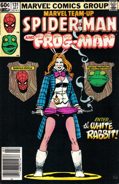Cover for Marvel Team-Up (Marvel, 1972 series) #131 [Direct Edition]