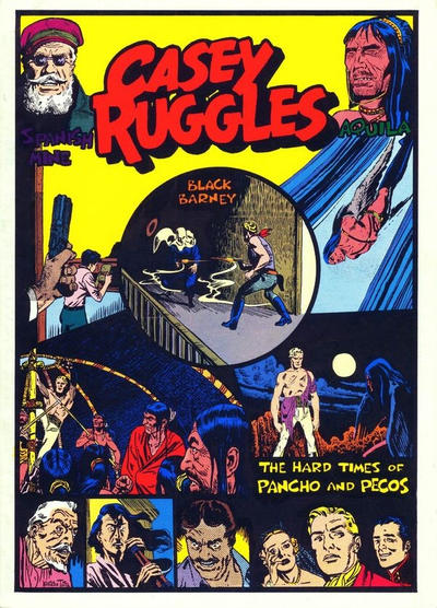 Cover for Casey Ruggles:  The Hard Times of Pancho and Pecos (Pacific Comics Club, 1979 series)