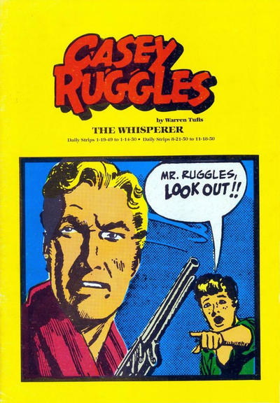 Cover for Casey Ruggles:  The Whisperer (Pacific Comics Club, 1981 series)