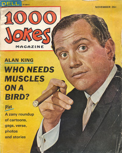 Cover for 1000 Jokes (Dell, 1939 series) #127
