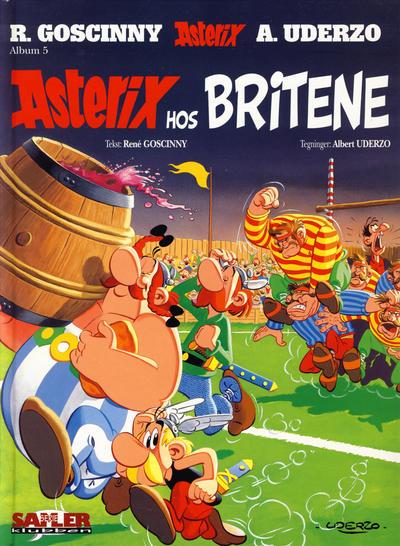 Cover for Asterix [Seriesamlerklubben] (Hjemmet / Egmont, 1998 series) #5 - Asterix hos britene