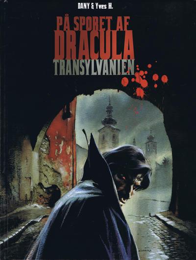Cover for På sporet av Dracula (Faraos Cigarer, 2007 series)