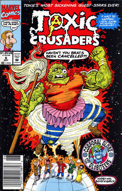 Cover for Toxic Crusaders (Marvel, 1992 series) #6 [Newsstand]