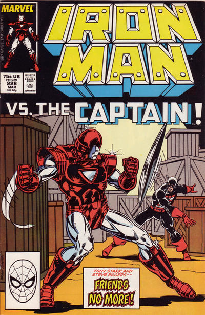 Cover for Iron Man (Marvel, 1968 series) #228 [Newsstand]