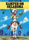 Cover for Lucky Luke (Semic, 1977 series) #17 - Kampen om Oklahoma [1. opplag]
