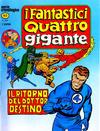 Cover for I Fantastici Quattro Gigante (Editoriale Corno, 1978 series) #5