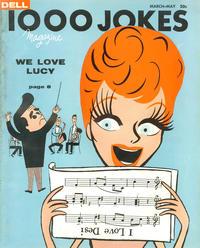 Cover Thumbnail for 1000 Jokes (Dell, 1939 series) #81