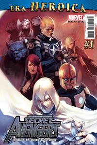 Cover Thumbnail for Los Vengadores Secretos, Secret Avengers (Editorial Televisa, 2011 series) #1