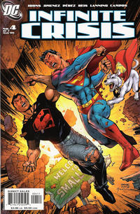 Cover Thumbnail for Infinite Crisis (DC, 2005 series) #4 [Cover A]