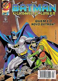 Cover Thumbnail for Batman: Vigilantes de Gotham (Editora Abril, 1996 series) #1