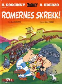 Cover Thumbnail for Asterix [Seriesamlerklubben] (Hjemmet / Egmont, 1998 series) #7 - Romernes skrekk