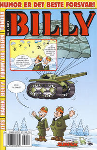 Cover Thumbnail for Billy (Hjemmet / Egmont, 1998 series) #2/2011