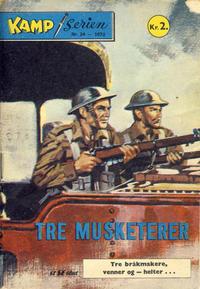 Cover Thumbnail for Kamp-serien (Serieforlaget / Se-Bladene / Stabenfeldt, 1964 series) #24/1972