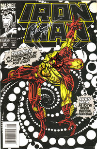 Cover Thumbnail for Iron Man (Marvel, 1968 series) #307 [Newsstand Edition]