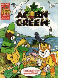 Cover Thumbnail for Acorn Green (Marvel UK, 1986 series) #15