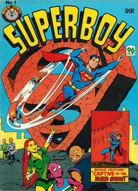 Cover Thumbnail for Superboy (K. G. Murray, 1982 series) #1