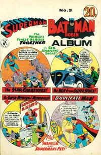 Cover Thumbnail for Superman and Batman Album (K. G. Murray, 1968 ? series) #3