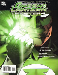 Cover Thumbnail for Green Lantern Super Spectacular (DC, 2011 series) #1 [Direct Sales]