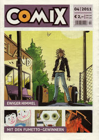Cover Thumbnail for Comix (JNK, 2010 series) #4/2011